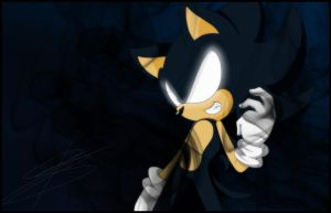 Dark Sonic by BloomPhantom