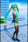 (MMD) Miku by mary34