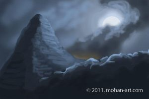 The Lonely Mountain by TurnerMohan