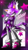 blaze the cat +new outfit 1+ by ArchiveN
