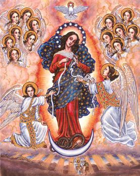 Our Lady Undoer of Knots by Theophilia