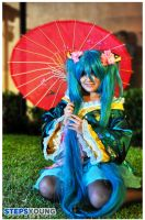 Hatsune Miku in Kyotei by Lala-Chan-Walker
