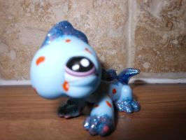 lizard lps with polka dots on him by megatiger42