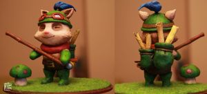 League of Legends Teemo sculpture by kethien