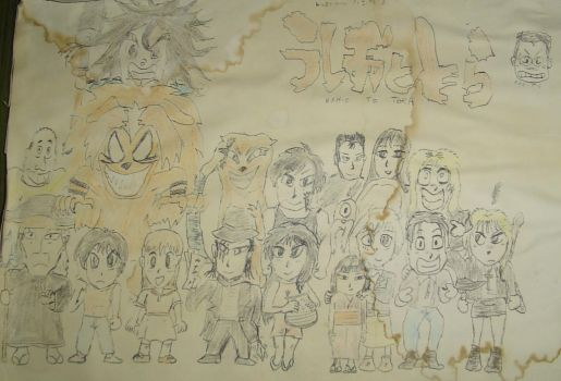 Ushio to Tora complete cast by ToraStrife