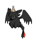 HB From Toothless by pikarar
