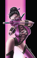 Mileena by Ironcid