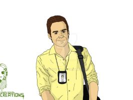 Dexter Morgan by day... by Vecthand