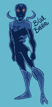 Blue Beetle by gucci84