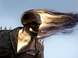 Ghost rider by FonteArt