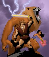 Thundarr the Barbarian by pungang