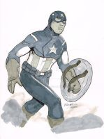 Captain America by DRMoore