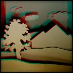 Papercut my third dimension by Graphica