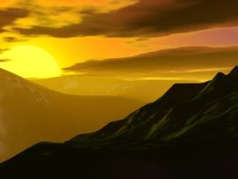A sunset by mtd-mobius