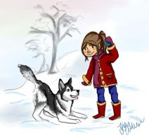 Snow Dogs by Kettie