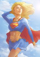 Supergirl by KhallidJoseph