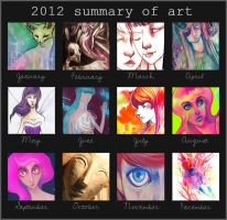 2012 summary of art by 3lda