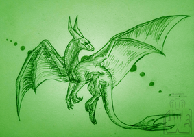 Soaring green by Virensere