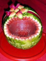 Watermelon Basket by jolabrodnica