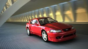 2000 Ford Mustang Cobra R by melkorius