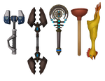Ratchet and Clank: ACiT - Wrench Pack by o0DemonBoy0o