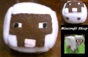 Minecraft Sheep Cube by eternityOnlooker
