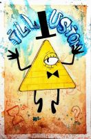 Bill Cipher by di-voice