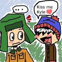south park- kiss me Kyle by LilSnowFox