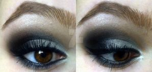 Basic smokey eye :D by KatelynnRose