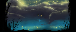 Monster : Lunar mist by AngelicMoonSushi
