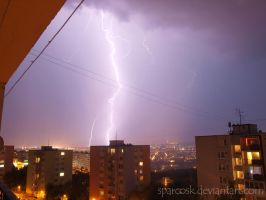 Lightning 2 in Kosice , Slovakia , 8.7.2012 by sparcosk