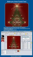 Make your Fractal Xmas Tree Tutorial by fractalyzerall