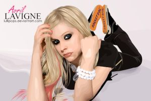 Avril Lavigne Vexel by Lullipops