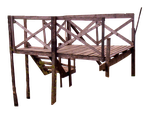 cut out pier by SolStock