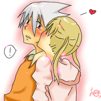 maka and soul by katita-chan