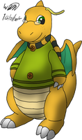 Jenna the Dragonite by Threehorn