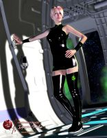Dystopian Tuesdays Space Station Living by MADMANMIKE