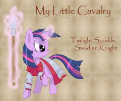My Little Cavalry- Twilight Sparkle by Nimbostratus