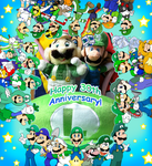 30 years of Luigi! by Nintendrawer