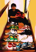 me and some of my shoes by s-a-l-t