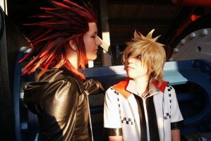 Axel and Roxas - Hey There by lunaecIipse