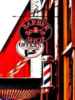 Down at the Barber Shop by Alonewithmyself
