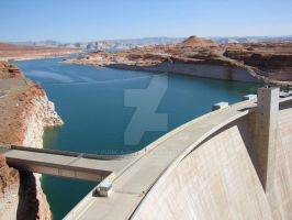 Glen Canyon Dam by Punk-a-Doo