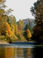 Colorful Santiam by WinDrift