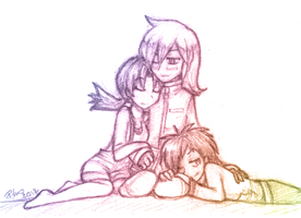 OT3 Nap time by firehorse6