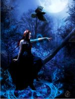 The Witch of Night by LuthiensLight