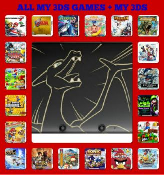 ALL MY 3DS GAMES by NintendoUltraRuler