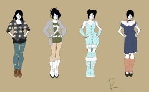 Fashion design set 3 by Rinmaru