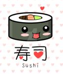 Kawaii Sushi by The-8th-Sin