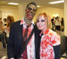Zombie walk by AFXtuming